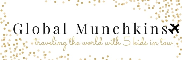 Global Munchkins - Traveling the globe with 5 kids in tow