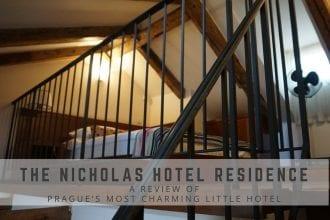 The Nicholas Hotel Residence in Prague | Global Munchkins