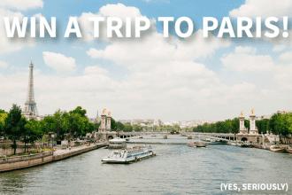 Win a Trip to Paris from Fat Tire Paris | Global Munchkins