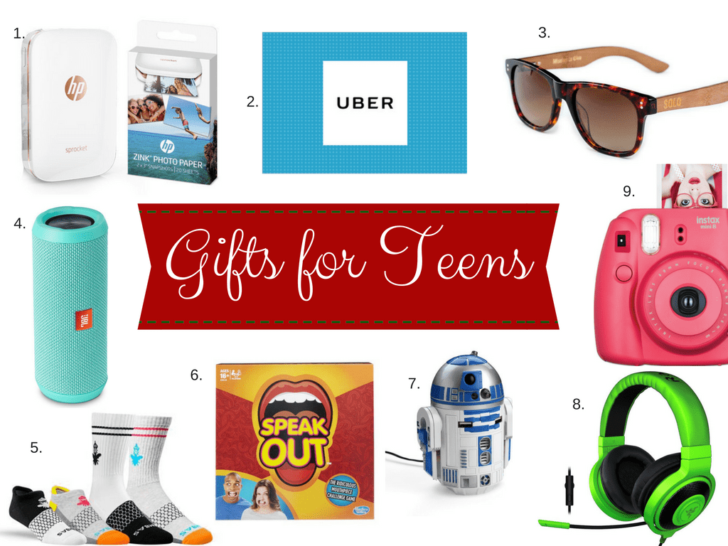 Unique Gifts for Teens. Teens will love these gifts.