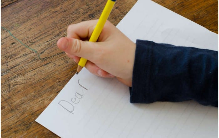 3 Reasons to Teach Your Kids to Write Letters