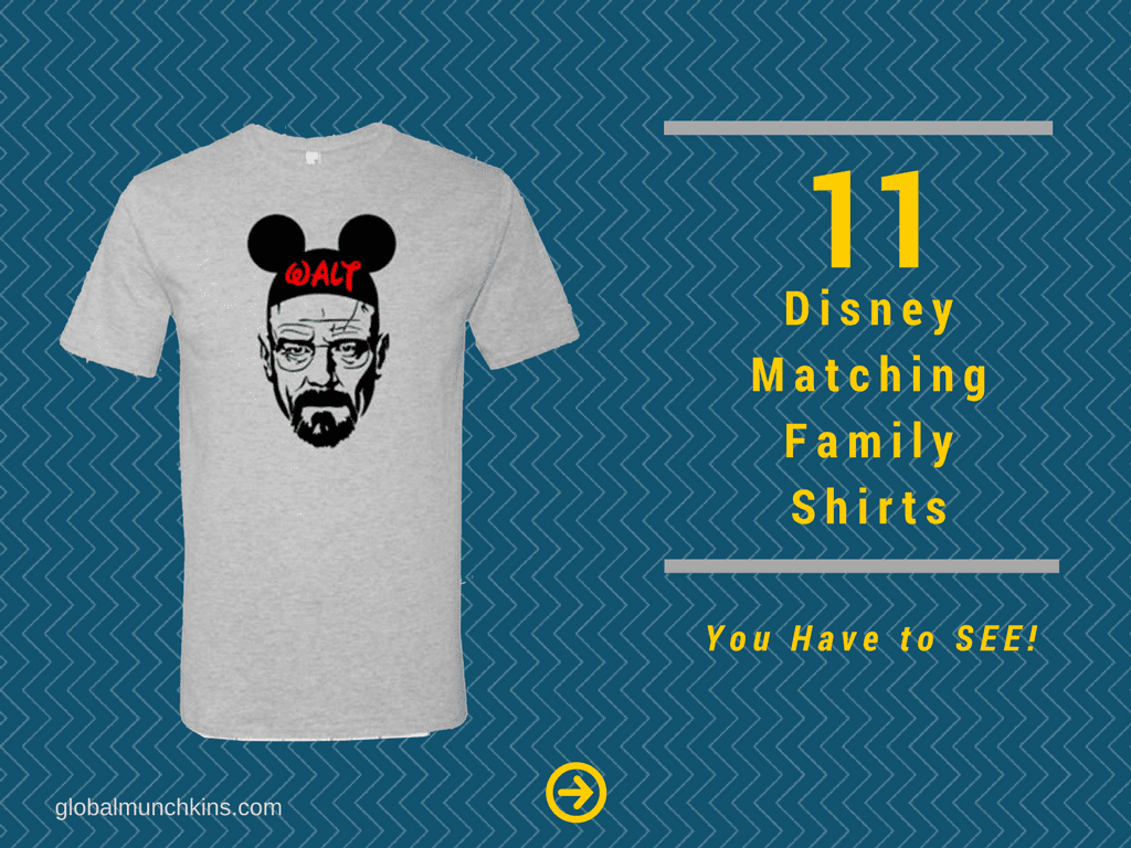 11 Awesome Disney Family Shirts For Your Vacation 3