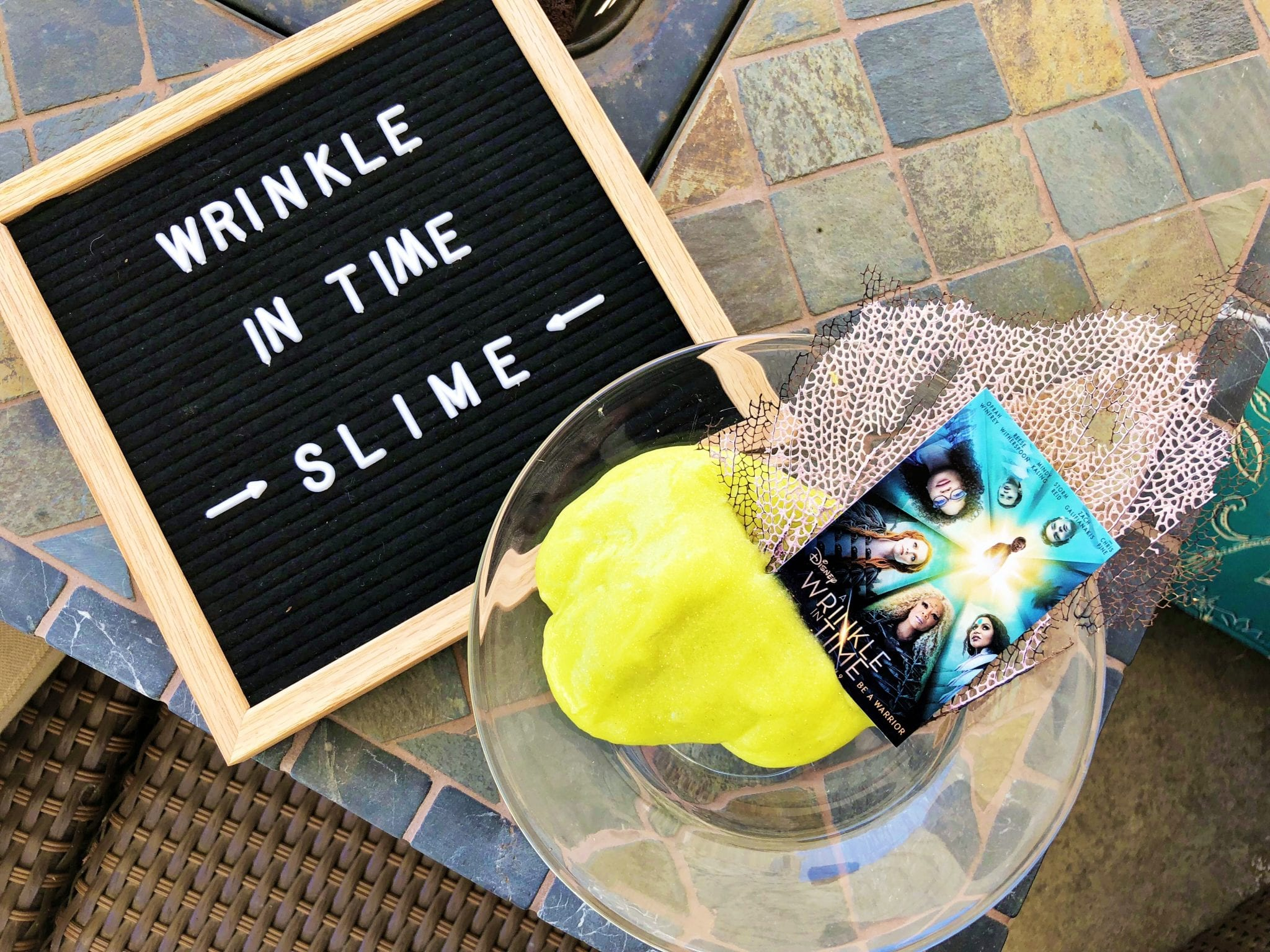 Wrinkle In Time Slime Recipe Free Printable Coloring Pages