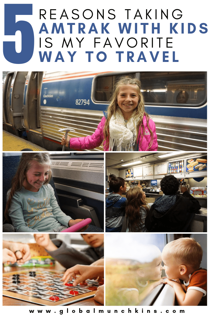 There is no method as relaxing as a train ride. We went from D.C. to New York on Amtrak with kids (5 of them) and the experience was amazing. Check this article out! #amtrak #travel #travelwithkids #vacation #traveltips