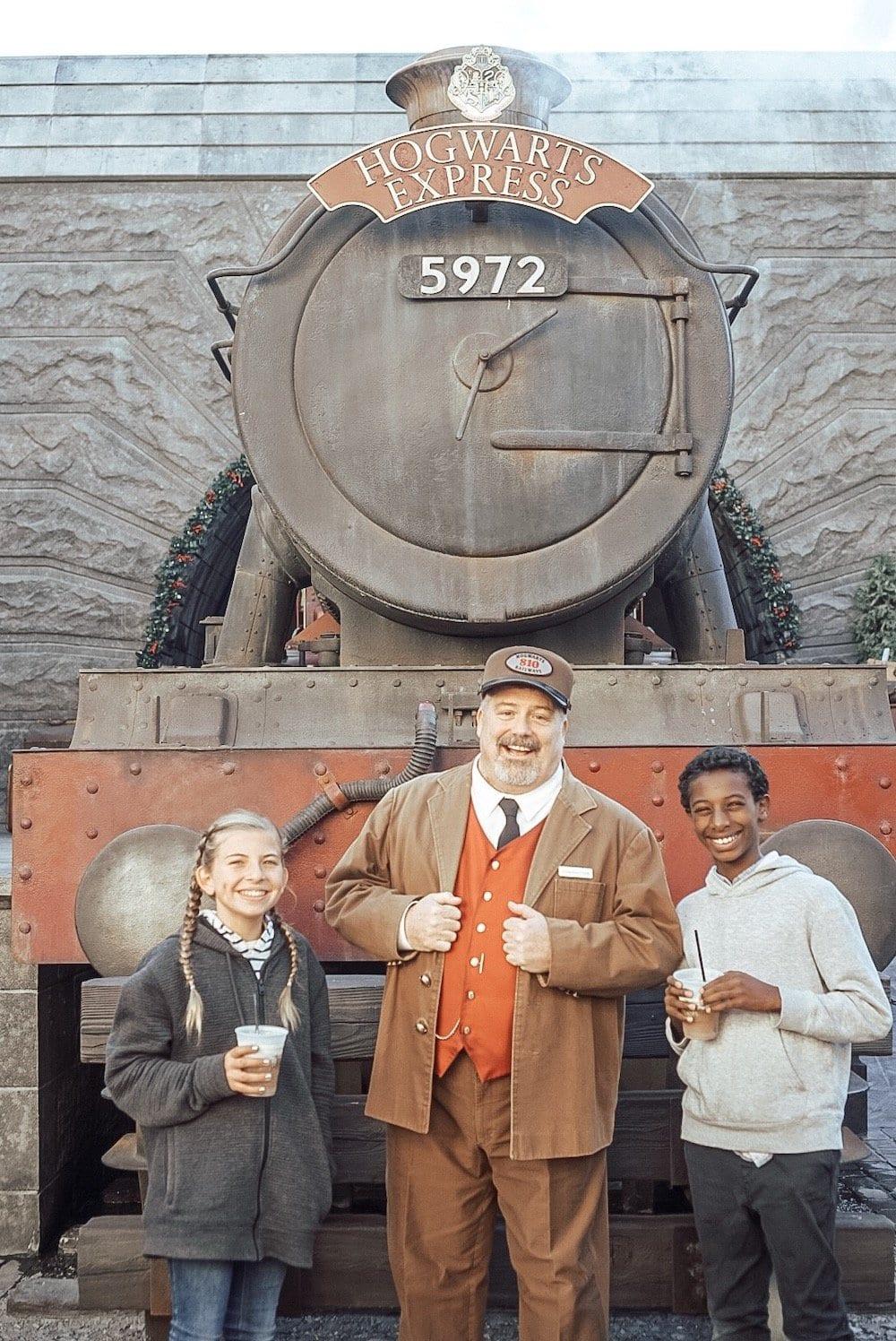 Universal Studios Hogwart's Express
