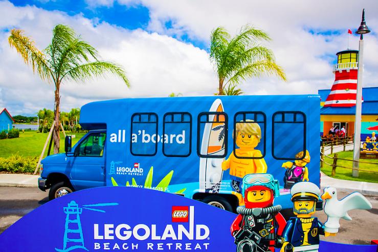 FREE Legoland Transportation