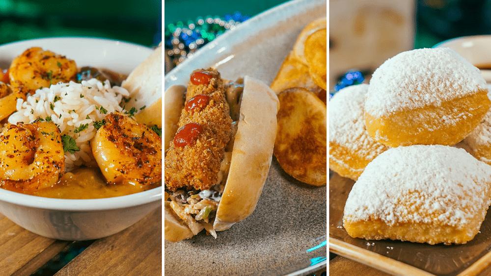 Universal Studios Orlando Mardi Gras Food