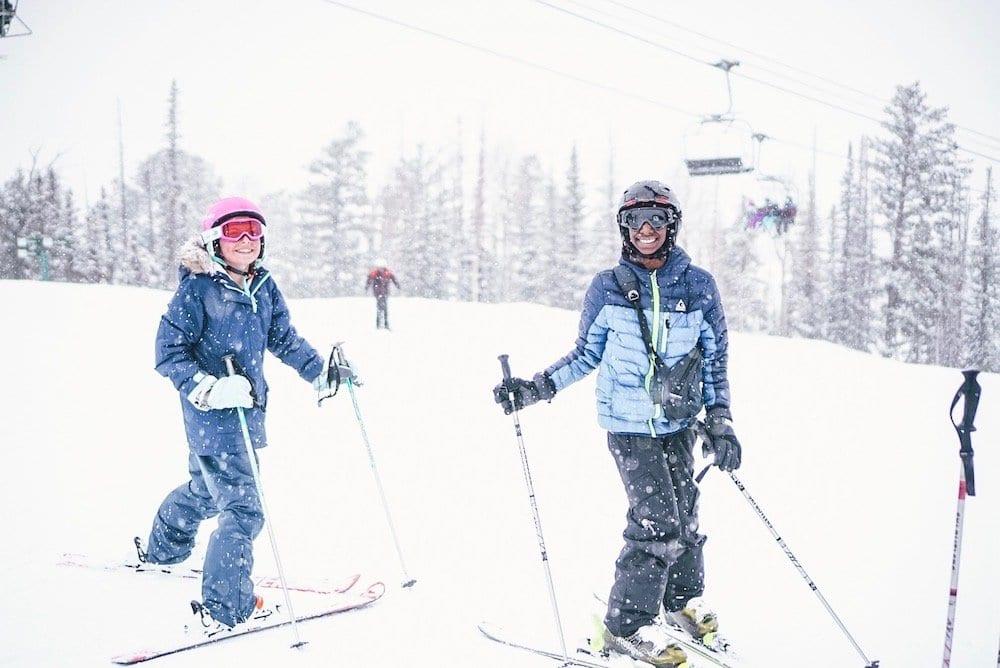Spring Break Skiing