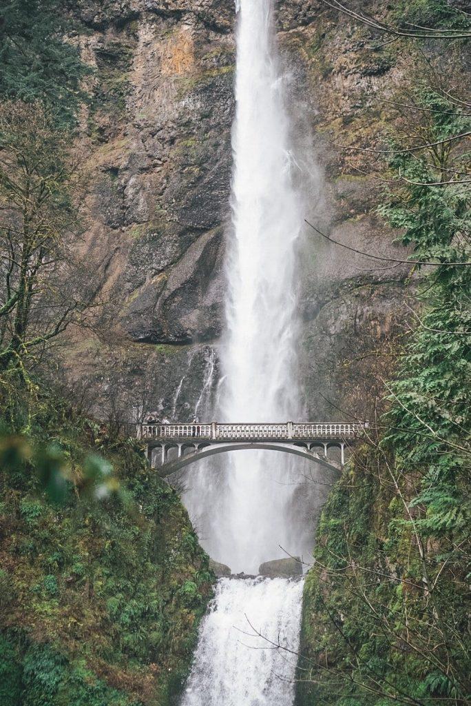 Multnomah Portland Falls
