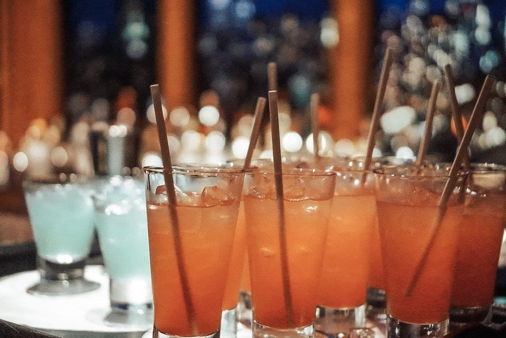 Cocktails onboard DIsney Dream