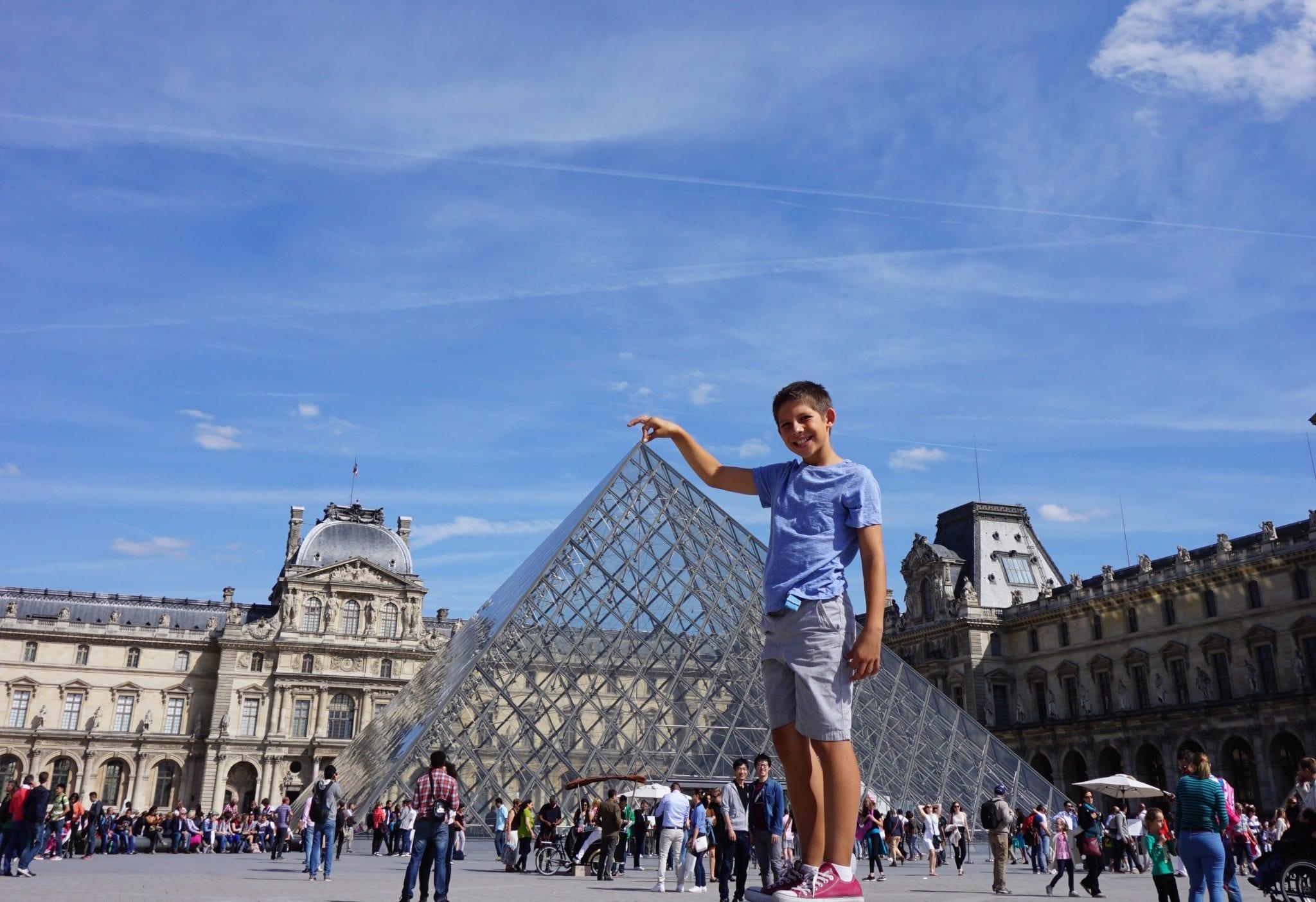 Travelogue Day 7 Paris Global Munchkins