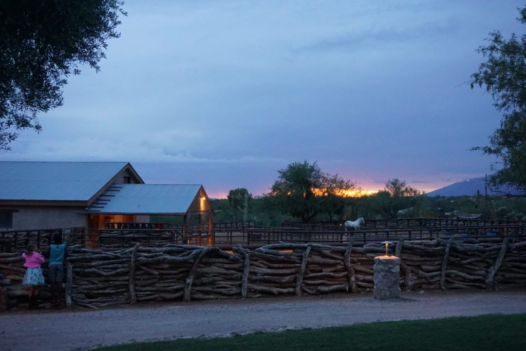 tanque verde ranch - sunset