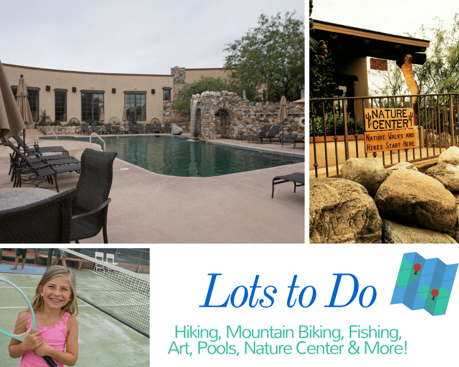 tanque verde ranch - amenities