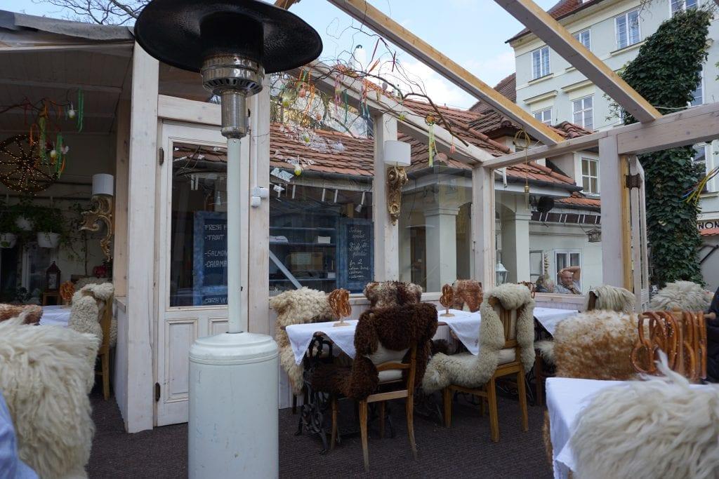 Adorable Restaurant in Prague