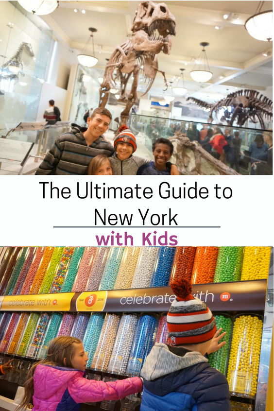 Ultimate Guide to New York with Kids