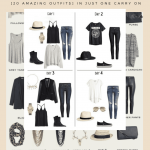 Europe Packing List! Heading to Europe is an Absolutely Amazing Experience. You can travel with as little as a carry on if you are clever. Here is how I packed 20 outfits in one carry on plus don't forget these 5 things. #packingtips #traveltips #traveleurope #europetravel #ootd #outfitideas