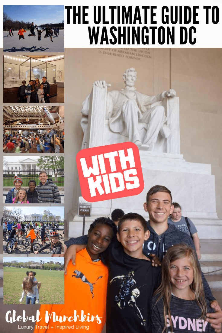 To make sure you get the most out of visiting this awesome destination I have compiled the ULTIMATE Guide to DC with kids. Check it out! #ultimateguide #traveltoDC #travelwithkids #traveltips #familyvacation #familybonding