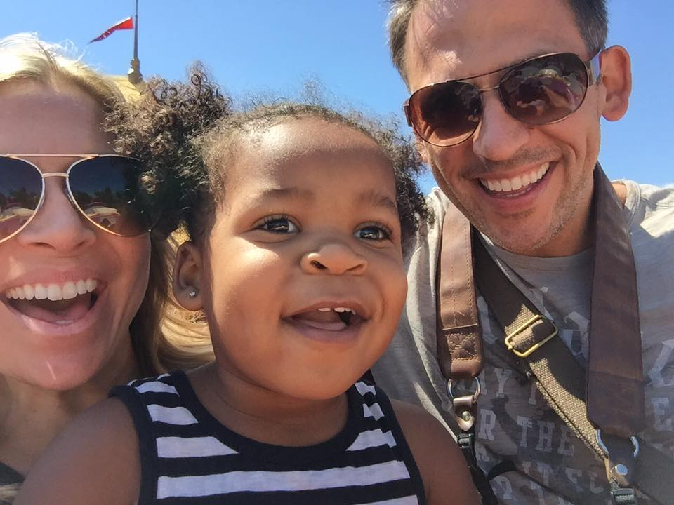 Adopted Black Daughter on Dumbo with family | Global Munchkins