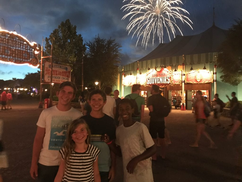 Disney World Tips - Fireworks Viewing