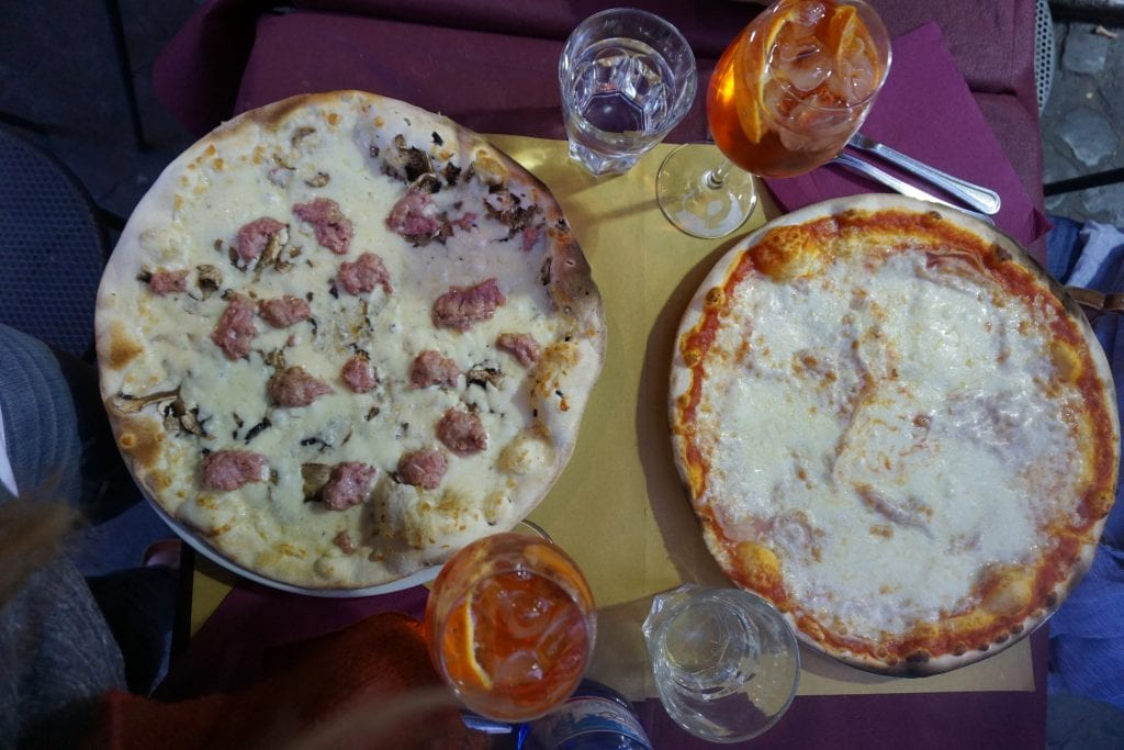 Italian Pizza in Rome