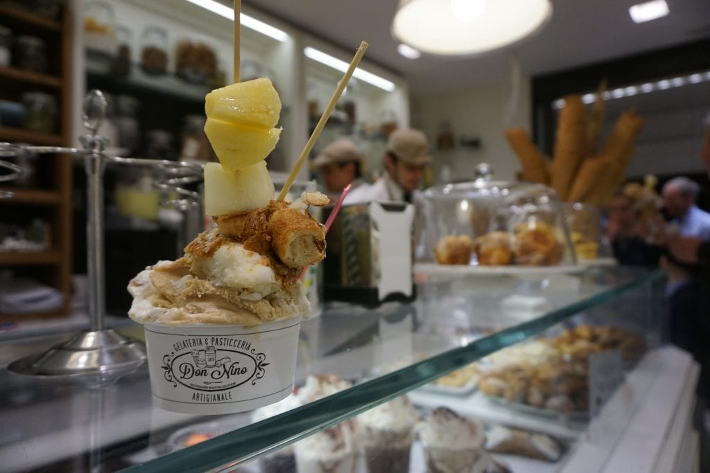Loved this gelateria I came across near the Spanish Steps.