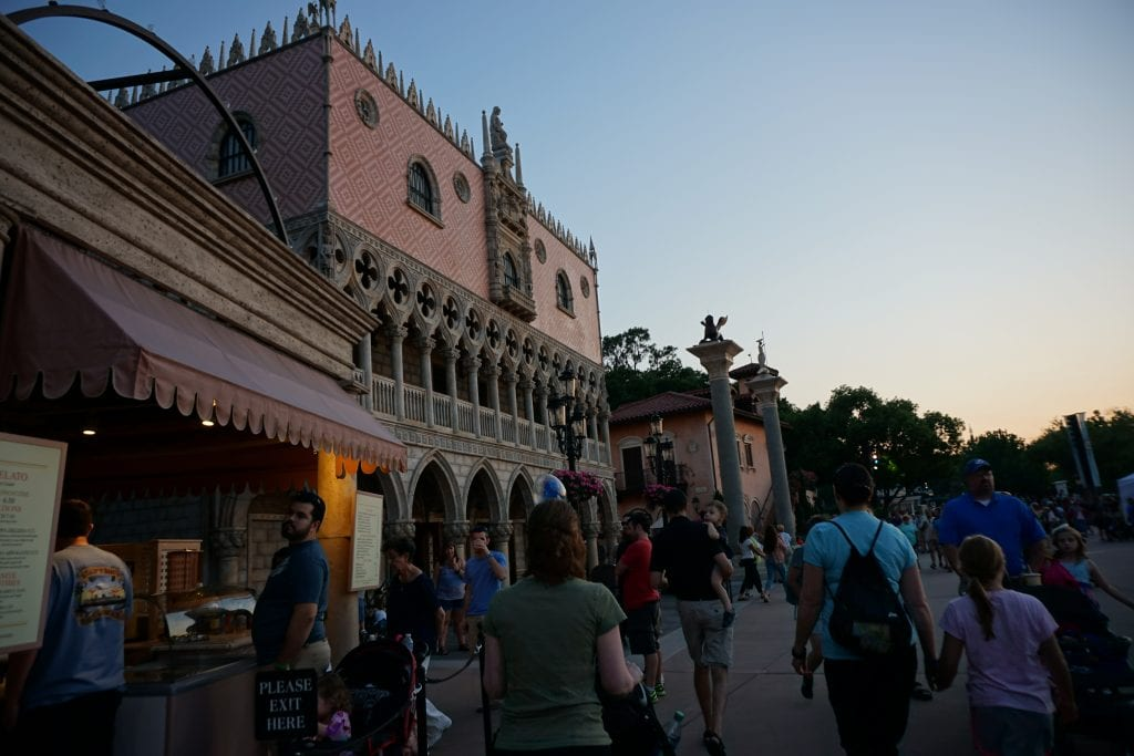 Italy in Epcot | Global Munchkins