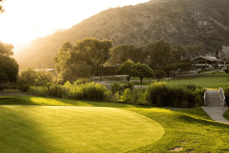 Photo of the golf course at The Ranch at Laguna Beach