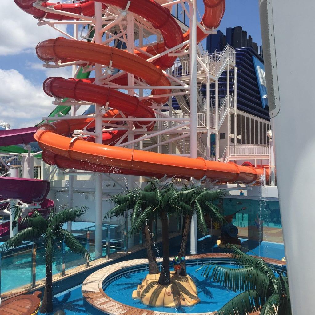 NCL Getaway Slides and Splash Park