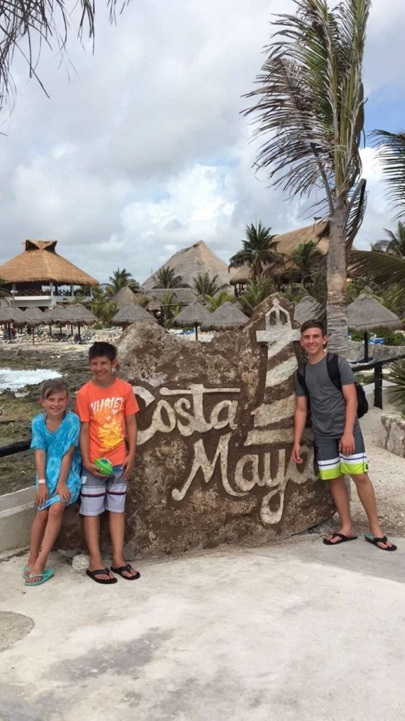 Costa Maya Port in Mexico