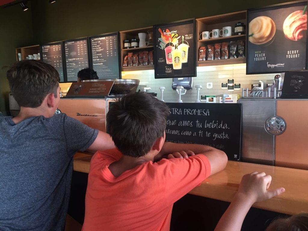 Starbucks in Cozumel Mexico