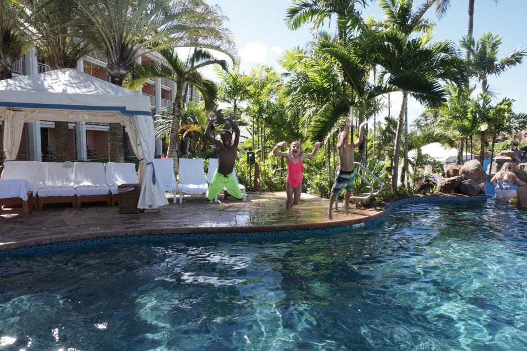 Making a Splash at Grand Wailea
