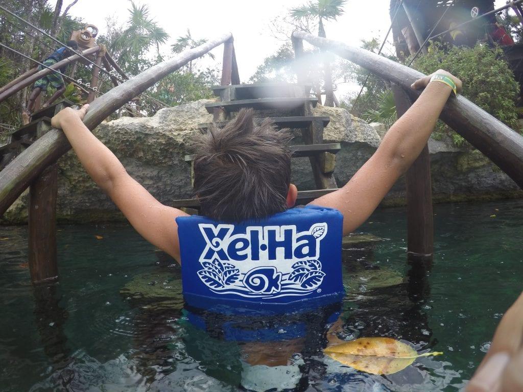 Xel-Ha Park in Cancun Mexico
