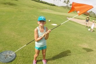 El Conquistador Foot Golf. The only foot golf course in Puerto Rico