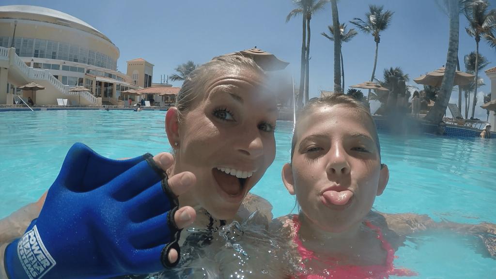 Aqua Parkour Class offered at El Conquistador Resort in Puerto Rico