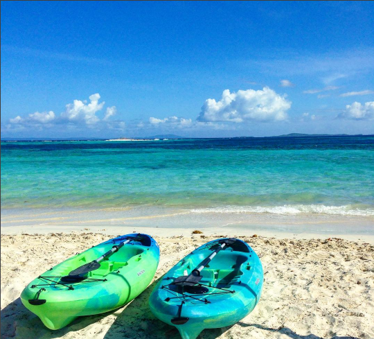 Kayaking on Palomino Island at El Conquistador Resort
