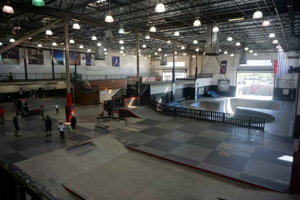 Vans Skatepark in Orange County | Global Munchkins