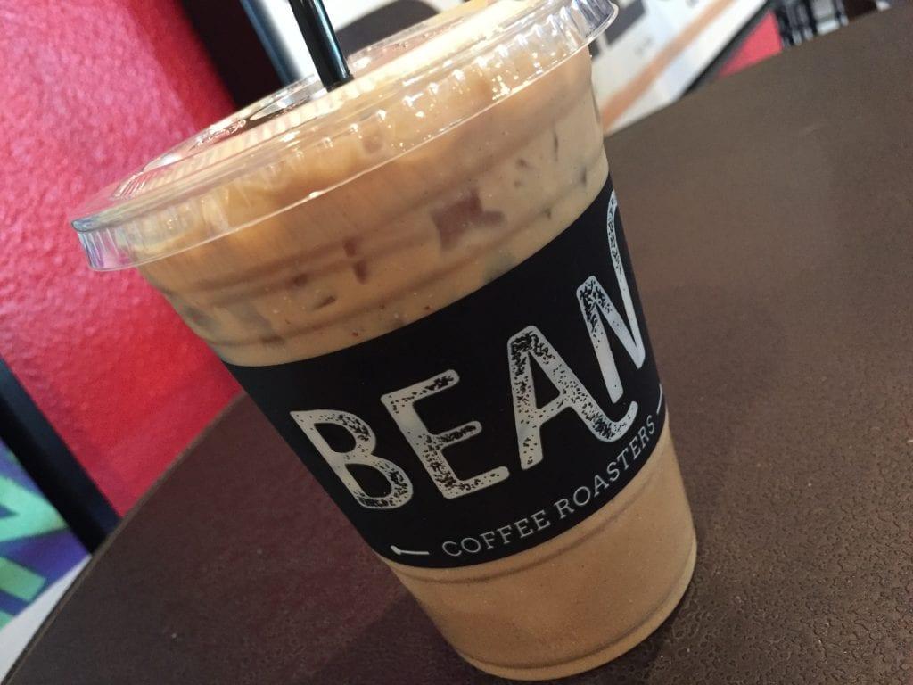 Bean Coffee Roasters Iced Latte in Temecula | Global Munchkins