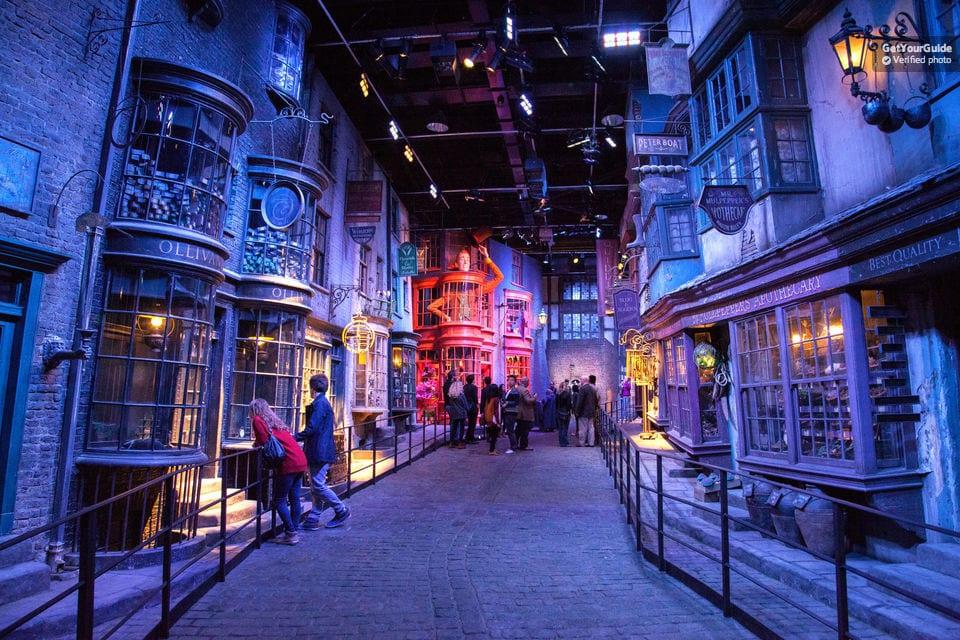 London with Kids - Harry Potter Studios Tour