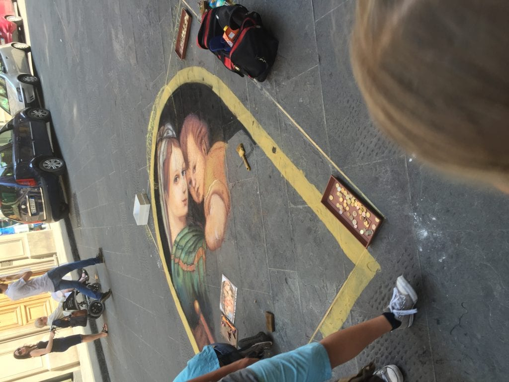 Gorgeous Chalk Art on the streets in Italy | Global Munchkins