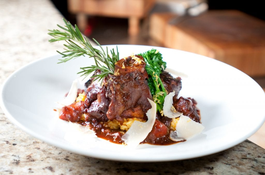 Osso Bucco from Paisano's at Pechanga a great idea for a date night in Temecula   Global Munchkins