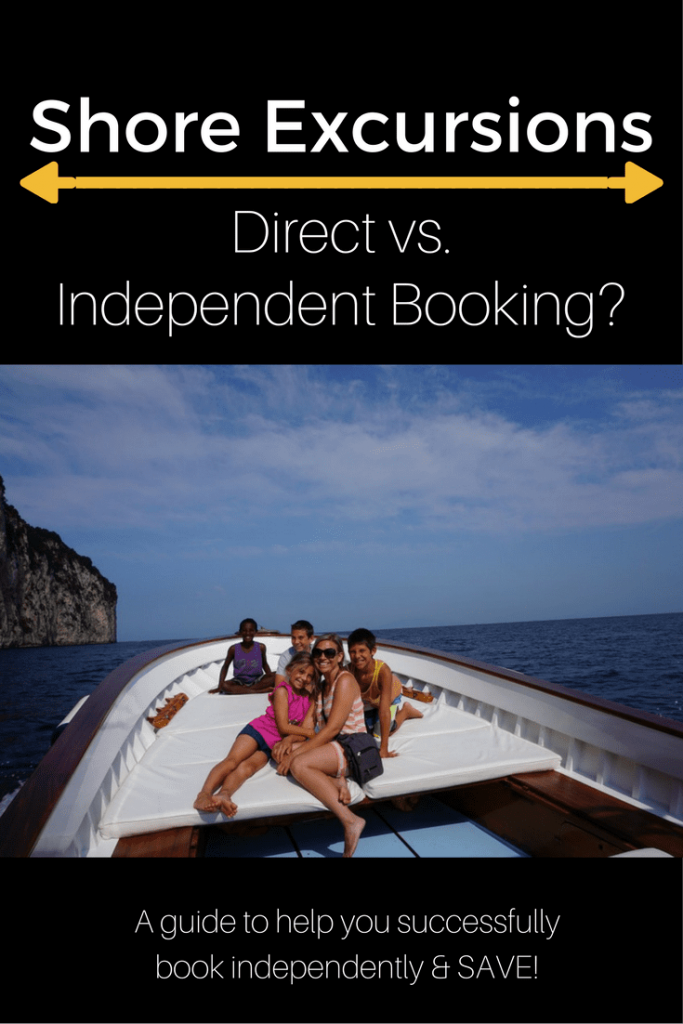 Shore Excursions Booking With The Cruise Line Vs Booking