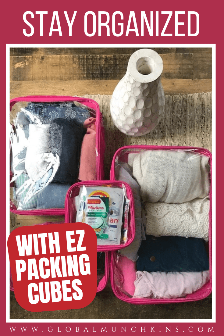 Packing is probably my LEAST favorite thing about traveling. Trying to stay organized between destinations, locating things I need fast is not always an easy task. That is why I LOVE EZ Packing Cubes.