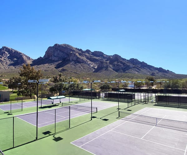 Tennis Court at Hilton El Conquistador in Tucson