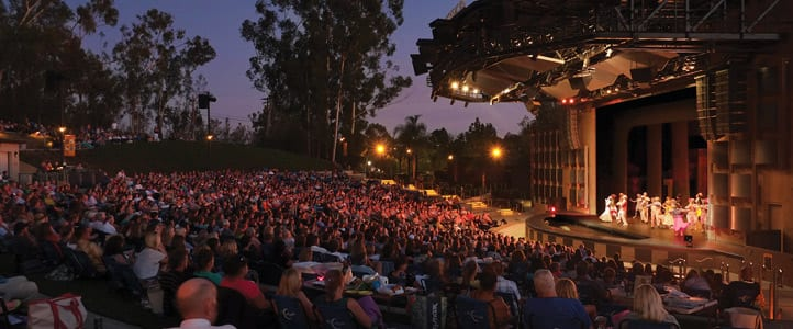 Moonlight Amphitheatre in Vista CA