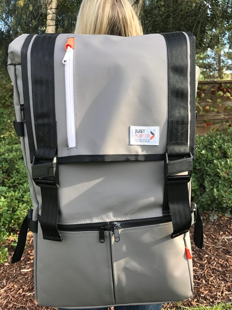 Gray Large Rucksack Backpack Review by Just Porter
