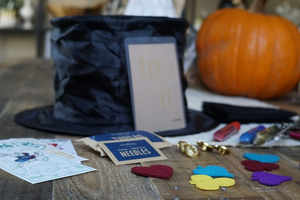 DIY Make Your Own Hatter Hat craft kit to inspire open ended play for kids by Seedling