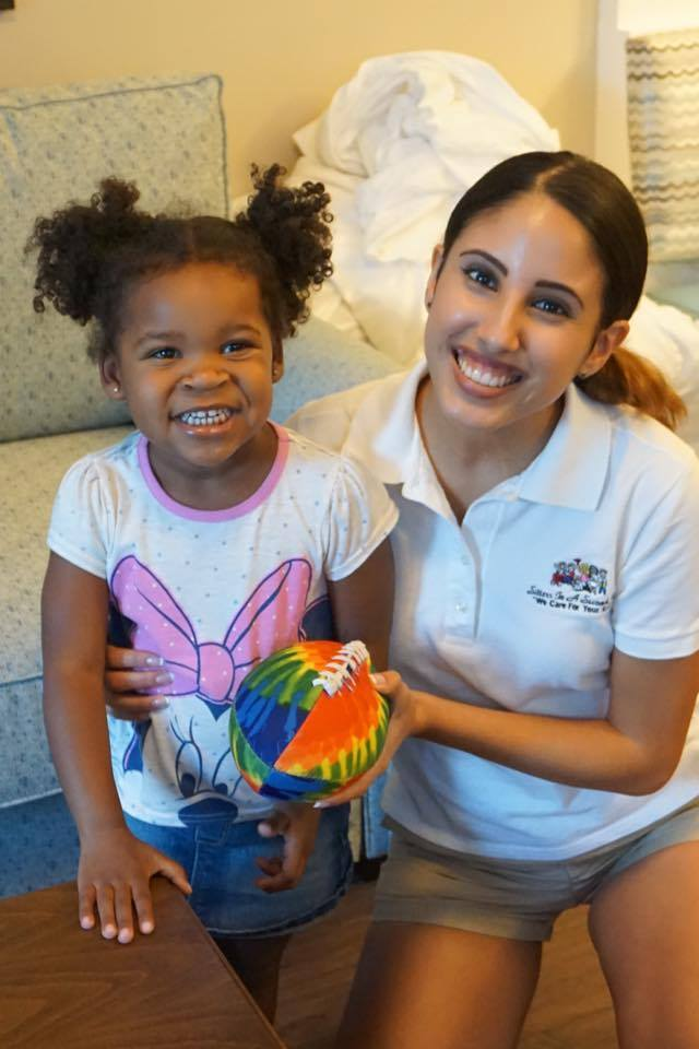 Luxury hotel babysitting service, Sitters In A Second, Inc. Our sitter and experience