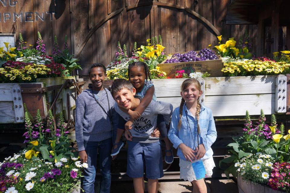 Boysenberry Festival Booth at Knott's Berry Farm