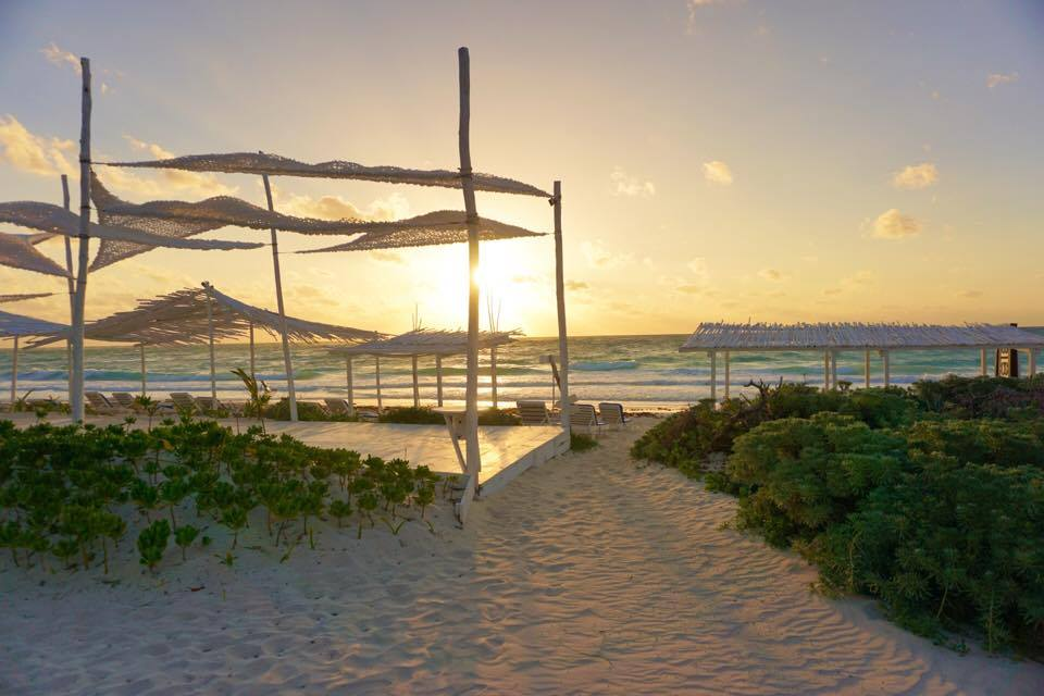Check out the most beautiful beaches in #Tulum Mexico. A chic eco-friendly hipster area located just outside of Cancun.