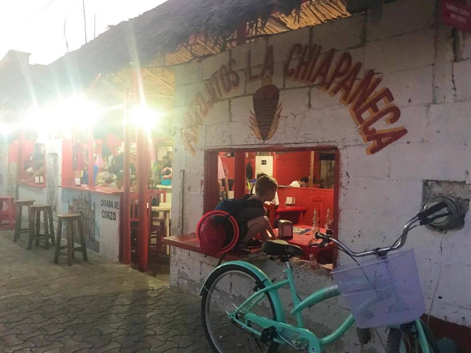 The BEST authentic al pastor tacos in Tulum Mexico. Learn about more hidden gems in Tulum by clicking through the link to my post.